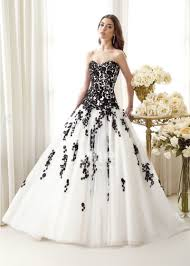 white and black wedding dresses 30 ideas of beautiful black and white wedding dresses the best