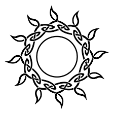 celtic sun needs something in the middle tattoos