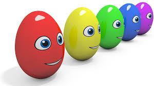 learn colors with 3d surprise eggs cartoons for kids colours