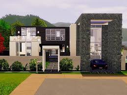 mod the sims modern beach house no cc