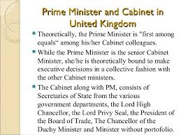 The Cabinet In Government Politics Of The United Kingdom