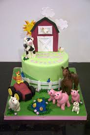 184 best cakes farm images on pinterest farm cake animal