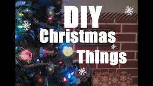 diy christmas things fake fireplace youtube