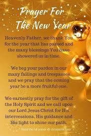 prayer for the new year christianstt