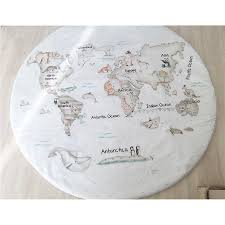 Greenland World Map by World Map Rug Vinilos Y Complementos Infantiles