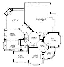european style house plan 4 beds 3 50 baths 4400 sq ft plan 132 168