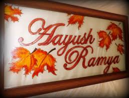 decorative wooden nameplates shop for fancy customized nameplates