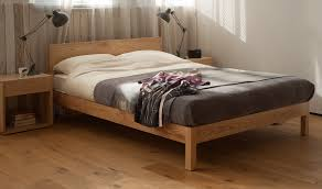 Modern Wooden Bed Frames Uk Scandinavian Style Bedrooms Inspiration Natural Bed Company