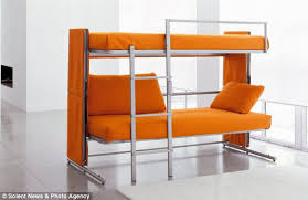 Picture Of A Sofa 3 000 Sofa That Transforms Into A Bunk Bed Daily Mail Online