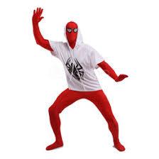 discount spiderman lycra spandex zentai suit 2017 spiderman