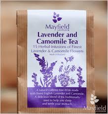 lavender tea lavender camomile tea mayfield lavender