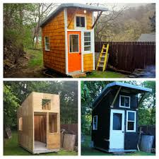 13 year old builds his own mini house in his backyard look inside