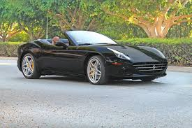black convertible cars 2015 ferrari california t convertible black interior specs
