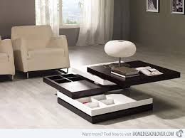 Modern Center Tables Made From Wood Home Design Lover - Table modern design