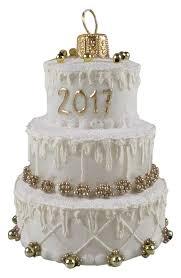 nordstrom at home handblown glass wedding cake ornament nordstrom