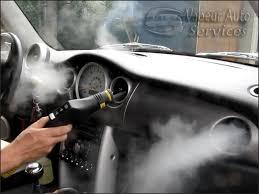 nettoyer siege voiture vapeur lavages vapeur auto services