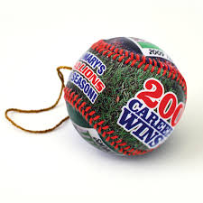 make a personalized ornament baseballs custom ornament