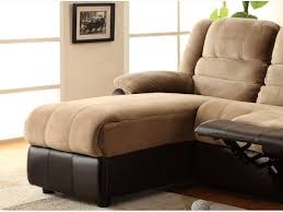 Chaise Lounge History Tone Sectional Sofa With One Reclining Seat And Chaise Lounge