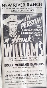 ask the historical society hank williams show our cecil ask hist soc hank williams show