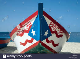 Puertorican Flag Fishing Boat With Puerto Rican Flag Crashboat Beach Aguadilla