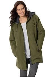 plus size light jacket women s plus size jacket in lightweight mini quilt dark basil 3x