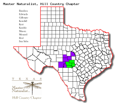 Texas Hill Country Map Location Hill Country Chapter