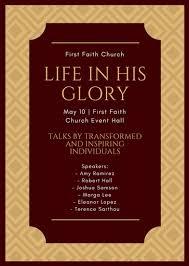 church flyer templates canva