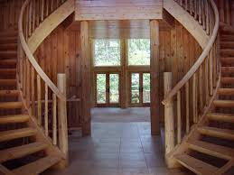 logstairways by daniel schneider construction offers many styles