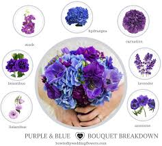 Blue Wedding Flowers How To Make A Bouquet Flower Names By Color Flowers Styles U0026 Ideas
