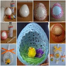 bunny basket eggs diy easter egg basket from thread easter egg basket egg basket