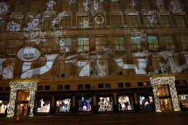 saks fifth avenue lights saks fifth avenue 2011 holiday 3d projection