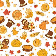 thanksgiving cornucopia clipart vector cornucopia thanksgiving pumpkin turkey corn seamless