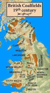 Map Of The United Kingdom Coal Mining In The United Kingdom Wikipedia