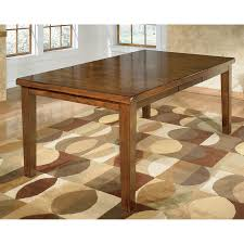 shop signature design by ashley ralene wood extending dining table