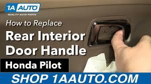 honda pilot parts 2007 how to replace install rear interior door handle 2007 honda pilot