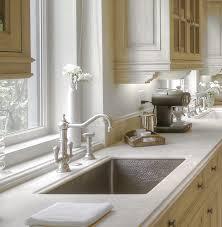 kitchen amazing blonde wooden kitchen cabinet with white granite