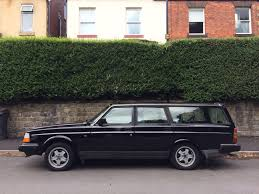 volvo 240 se black estate manual petrol 2l 1991 glt u2022 3 300 00