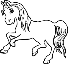 horse pictures to coloring pages coloring page