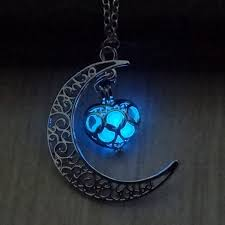 glow in the necklaces september moon necklace glow in the birthstone deals