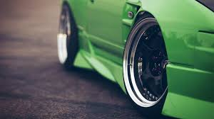 nissan green cars close up green nissan 240sx rims wheels walldevil