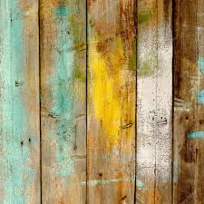 background old wooden fence painted in different colors u2014 stock
