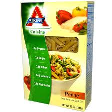 atkins cuisine penne pasta 12 oz 340 g iherb com