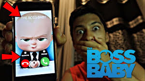 Baby On The Phone Meme - calling the boss baby omg he actually answered youtube