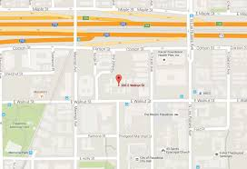 Pasadena Ca Map Festival Of Senses Walk Of Life