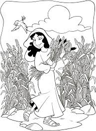 ruth and naomi coloring page throughout and coloring pages