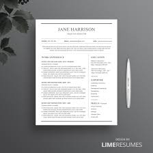Free Pages Resume Templates Page Resume Templates Clean One Page Template Cover Letter