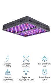 1000 watt led grow light reviews best led grow lights top 10 picks