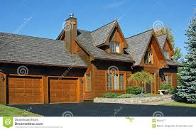 canadian wooden house royalty free stock photography image 6824117
