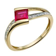 rings with ruby images Ruby rings ernest jones