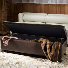hastings tufted fabric storage ottoman bench by christopher knight